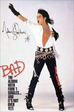 "Michael Jackson ""BAD"" 1987 Promo Stand-Up Display - Celebrity Pop Entertainer"