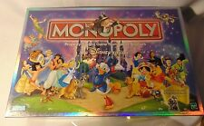 Disney 2001 Monopoly Game Complete Cinderella Peter Pan Dumbo Snow White
