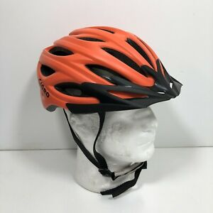 GIORO Cycling Helmet Lightweight Orange Adult M 6-7/8 To 7-3/8 Bike Headwear