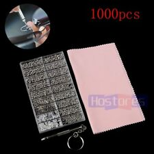 1000 Stück Edelstahl Kleine Micro Schrauben Uhr Brillen Sortiment Reparatur Set