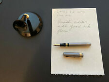 OMAS T2 75th Anniversary Limited Edition Fountain Pen Fine Nib with Nakaya Stand