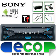 VW Touran 2003 On SONY Bluetooth DAB Android iPhone Aux Car Stereo Steering Kit