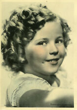 SHIRLEY TEMPLE  30s VINTAGE FRENCH POSTCARD CP CARTE POSTALE PHOTO