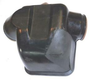 1980-era Moto Guzzi SP1000 rubber air cleaner intake box USED, WITH SMALL HOLE ^