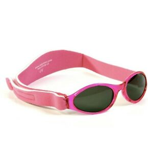 Baby Banz Adventure Infant Sunglasses - 0-2 Yrs (Pink) *NEW*