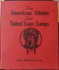 Us The Album For United States Stamps Scott Publication 1949 Edition