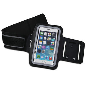 Fosmon FORCE Adjustable Neoprene  Workout Armband Holder for iPhone 5 / 5S / 5C