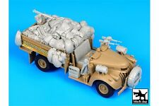Black Dog T35109 1/35 British SAS Chevrolet N°2 north Africa 1942 accessories