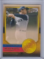 MICKEY MANTLE 2012 Topps Golden Greats #33   (B7339)