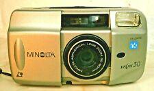 Minolta Vectis 30 IX-Date APS Wide Angle Film Camera 30-90mm Lens Retro Lomo