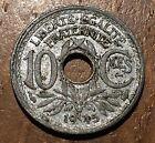 PIECE DE 10 CENTIMES 1945 B PETIT MODULE EN ZINC (199)