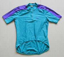 Vintage Retro Cycling Sport Race Jersey Shirt Green Grade A