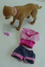 Mattel Barbie Taffy Dog & Puppies Luv Me3 Shirt Shorts Bone Lot Outfit Accessory