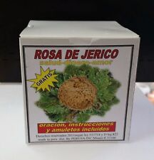 ROSA DE JERICO 1 PLANT PER BOX ORACION Y INSTRUCCIONES INCLUIDAS AMULETOS GRATIS