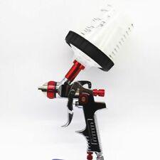 Paint Spray Gun Adapter Pps Tank Hvlp Spray Gun Auto 1.3 1.4 1.7mm Nozzle Tools