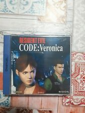 Resident Evil - Code: Veronica per Dreamcast - Completo - PAL