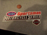 Motorcycle Series Sticker / Decal ORIGINAL  OLD STOCK