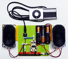 How to Build a Stereo Amplifier - a DIY Kit for K12 STEM Learning and Makerspace