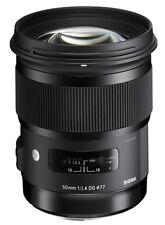 Sigma 50 mm ART F/1.4 HSM DG Objektiv NIKON