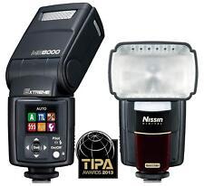 Nissin Extreme MG8000 Flash Gun for Nikon i-TTL Camera Nikon (UK Stock)
