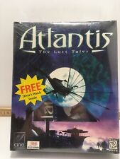 Atlantis The Lost Tales RARE Sealed Big Box PC game for Windows 95 Divers watch