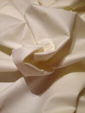 Bonded Cotton Sateen Lining With Interlining Ivory 25 Metre Roll**NEXT DAY***