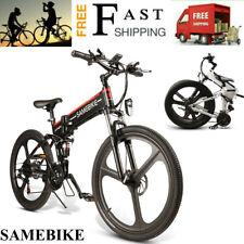 Bici Elettrica Pieghevole Da 26'' Power Assist Bicicletta E-Bike Motorino N3G4