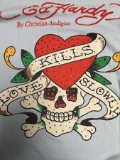 Ed Hardy By Christian Audigier Long Sleeve T Shirt Medium