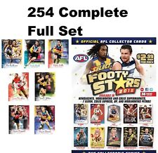 2018 AFL SELECT FOOTY STARS 254 COMPLETE FULL SET 222 COMMON CARDS + 32 AFLW