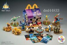 2005 McDonalds Disney 50 Years Magic Happiest Celebration MIP Complete Set, 3+