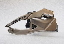 SRAM X0 Front Derailleur Low Clamp 318/349 31.8/34.9 mm BottomPull, 2x10 spd