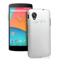 Custodia rigida specifica per LG Google Nexus 5 D820 BIANCA cover sottile nuova