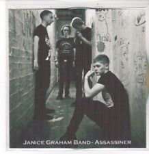 (DD821) Janice Graham Band, Assassiner - 2012 DJ CD
