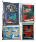 LOTTO DeAgostini/ESSO: Atlante+Enciclopedia Generale+2 Dizionari IngleseItaliano