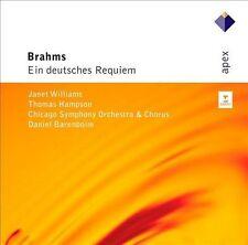 Ein Deutsches Requiem, BARENBOIM / CSO / WILLIAMS / HAM, New Import