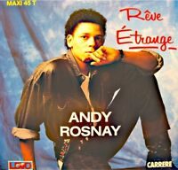 ++ANDY ROSNAY reve etrange/instrumental MAXI 1989 CARRERE VG++