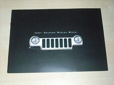 36705) Jeep Cherokee Polen Prospekt 2002