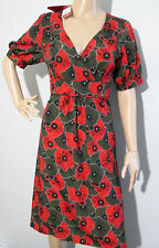 "NEW * DIANA FERRARI * sz 8 "" YASMIN DRESS "" rrp $149.95 BNWT - floral patterned"