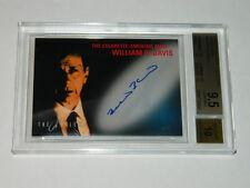 X-Files Autograph WILLIAM B DAVIS Auto Cigarette Smoking Man BGS 9.5 GEM MINT 98