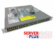 Cisco Catalyst WS-C4948E-F, Back-to-Front Cooling Otherwise Same as WS-C4948E-S
