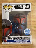 Funko POP! Star Wars The Mandalorian Super Commando Funko Shop Exclusive In Hand