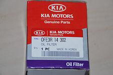 Genuine KIA 0fe3r-14302 0fe3r14302 Filter Pride 1.3 1990 OIL FILTER NEW