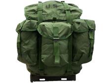 USGI Large Alice Pack OD Complete with Frame Shoulder Straps and Kidney Pad
