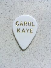 CAROL KAYE GUITAR PICK (OFFICIAL) SHIPS FAST!