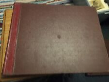 Vintage Ledger 1949 Seed Grain Company Sales Accounts Book Farm Food Grower Shop