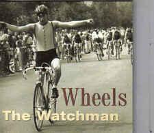 Thje Watchman-Wheels cd maxi single 4 tracks cardsleeve