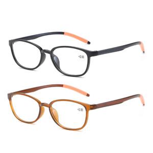Flexible Reading Glasses Light Weight TR90 Men Women 1.0 1.5 2.0 2.5 3.0 3.5 4.0