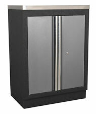 Sealey APMS52 Modular 2 Door Floor Cabinet - Black