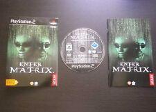 Jeu Sony PLAYSTATION 2 PS2 : ENTER THE MATRIX (Atari COMPLET envoi suivi)
