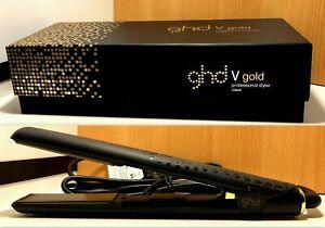 GHD Vgold Professional Hair Straightener Styler Iron 1 Inch Classic Iron AU Plug